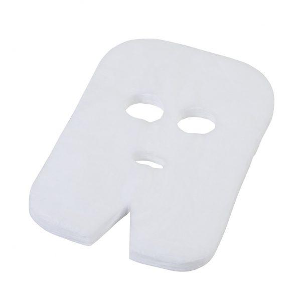 Neaustinės medžiagos kaukė kosmetologinėms veido procedūroms, 100 vnt. KAINA 7 eur