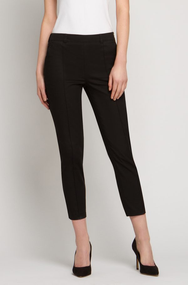 Spodnie kosmetyczne Cygaretki Vena - Czarne przód