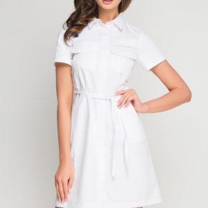 Sukienka kosmetyczna Sportivo biała